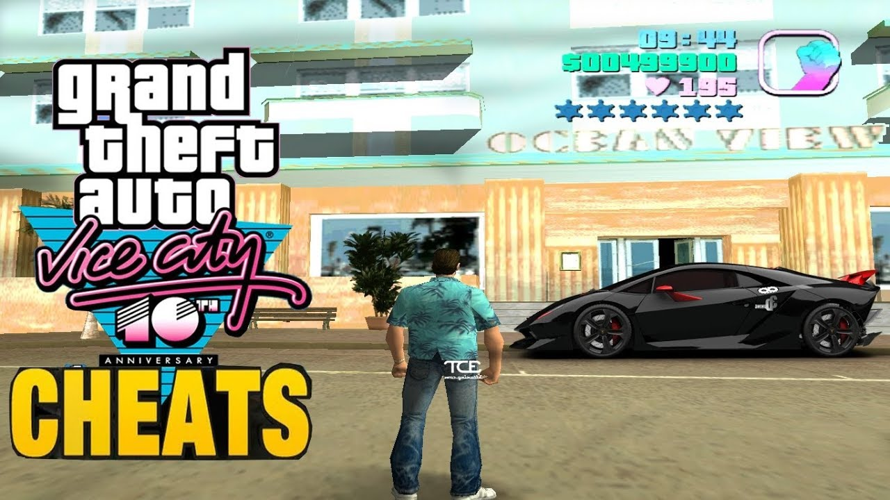Rockstar Gta Vice City Cheats 2 Youtube
