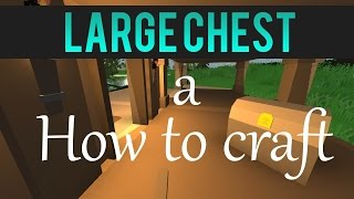 Unturned (how To Craft A Crate And Chest)