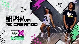 Sonhei que Tava me Casando - Wesley Safadão | FitDance Kids (Coreografía) Dance Video