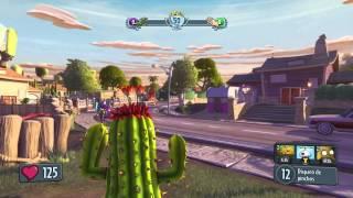 Gran Cactus, Mejor Planta!! | PLANTAS VS ZOMBIES: GARDEN WARFARE | Duelo Por Equipos (XBOX ONE)