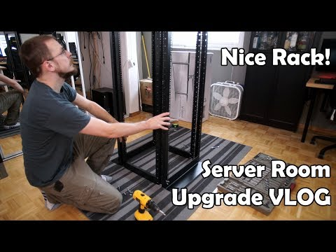 Server Room Rebuild Work-vlog