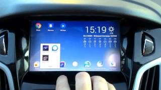 Обзор дополнительных функций магнитолы на Android для Ford Focus 3(В данном обзоре рассматриваются функции, не входящие в функционал ОС ANdroid - такие как камера заднего вида,..., 2016-02-08T12:41:31.000Z)
