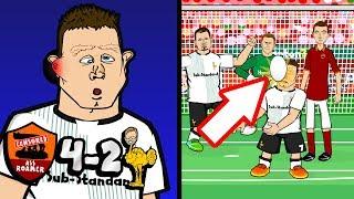 💥⚽️MILNER OWN GOAL!⚽️💥 Roma vs Liverpool 4-2! (6-7 parody Goals Highlights Champions League)