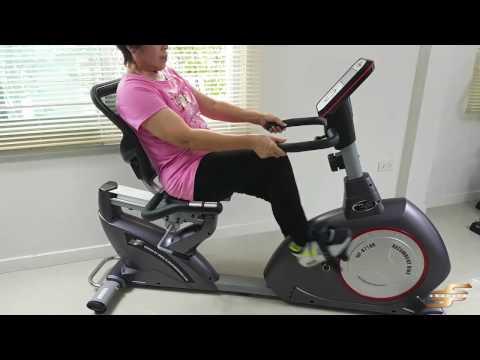 รีวิว 8718R จักรยานออกกำลังกายเอนปั่น