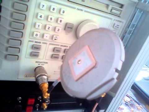 GPS antenna match on L-band 1575 MHz