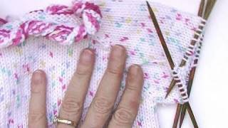 Stricken * Hello Kitty Babypullover * Teil 3 * Ärmel
