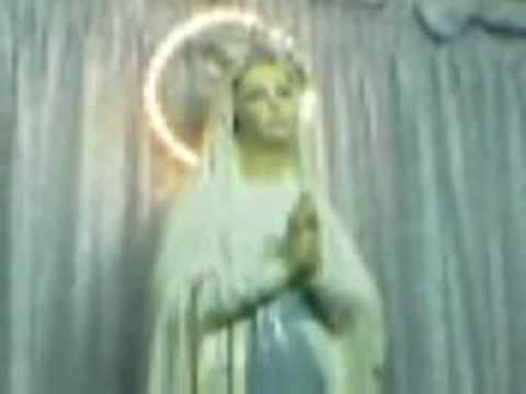 Virgin Mary Moves Her Lips & Eyes