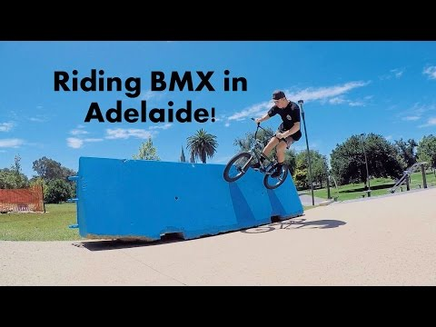 RIDING BMX IN THE STREETS OF ADELAIDE!