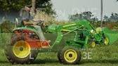 John Deere 3038e Grapple Series (Part 1) - YouTube