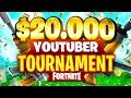 $20,000 YouTuber/Streamer FORTNITE TOURNAMENT (Week 7)