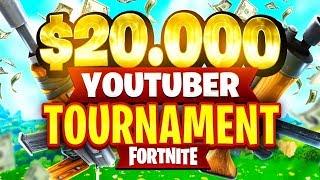 $20,000 YouTuber/Streamer FORTNITE TOURNAMENT (Week 7)