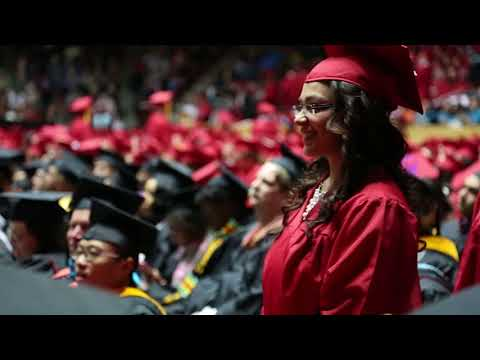 UNM Fall Commencement Ceremony 2017