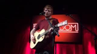 Ed Sheeran Photograph Secret Gig Dublin