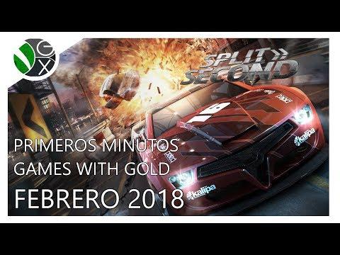 Primeros Minutos / Games with Gold Febrero 2018 / Split Second: Velocity