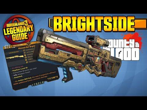 BRIGHTSIDE | Legendary Weapons Guide!!! | Bounty of Blood DLC 3 [Borderlands 3]