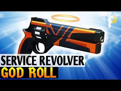 Legendary Not Forgotten? Service Revolver GOD ROLL  (Destiny 2)