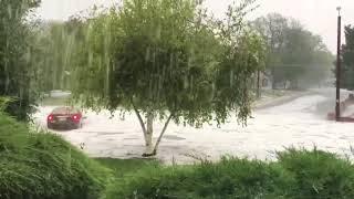 Flash Flooding Swamps Cars in Denver