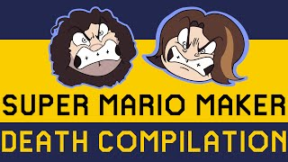 The Game Grumps Super Mario Maker Death Compilation