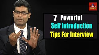Powerful Self Introduction Tips  PVU Shankar | ASK TALKS