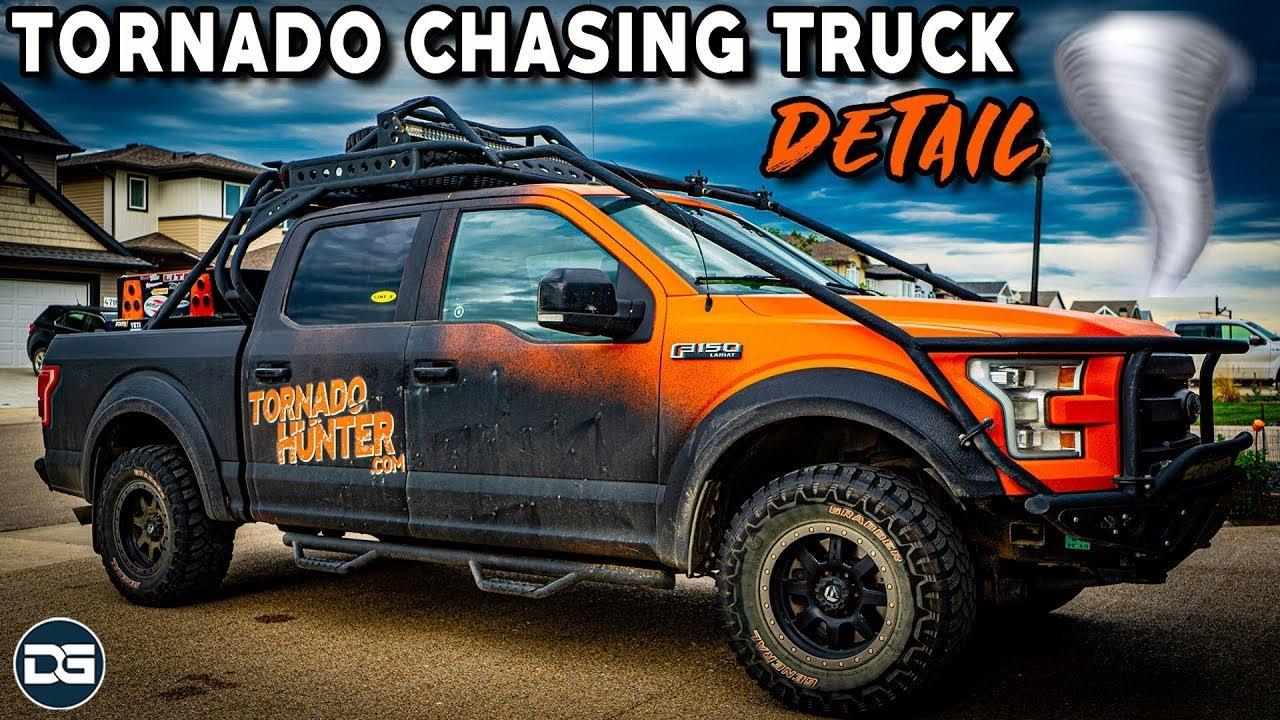Detailing The Tornado Hunters Storm Chasing Truck!