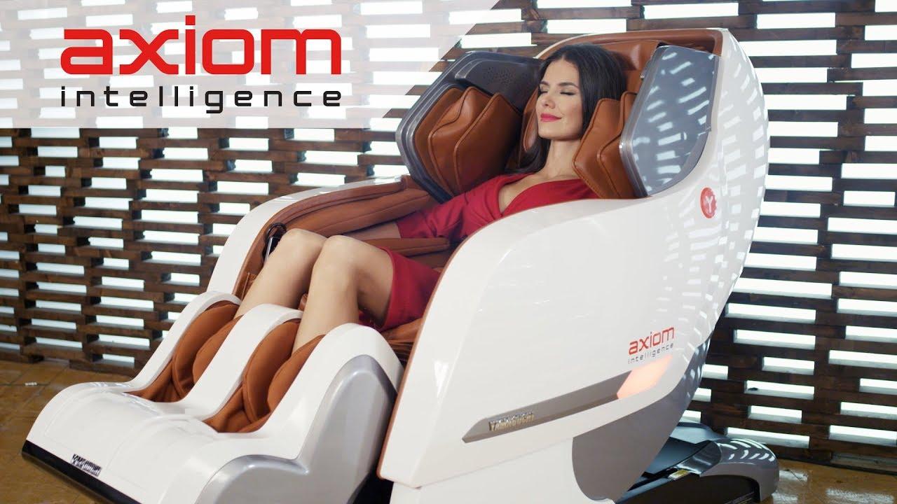 Японка на массажном кресле — img 11