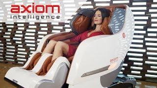 Массажное кресло для дом YAMAGUCHI Axiom. Обзор массажного кресла Axiom с Татьяной Высоцкой. - Видео от US MEDICA - Health & Beauty