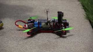 Learning to fly a first person view racing drone