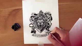 Drawing Gryffindor