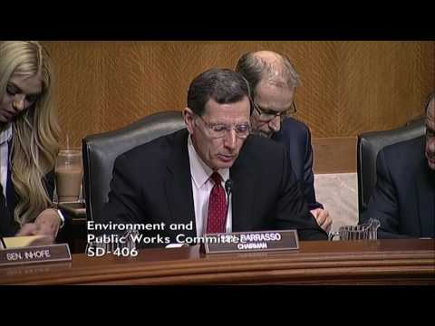 Chairman Barrasso Questions Pruitt on the Gold King Mine Spill