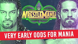 Very Early Betting Odds For WrestleMania 34