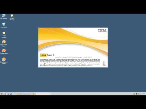 Installation & Configuration of Lotus Notes