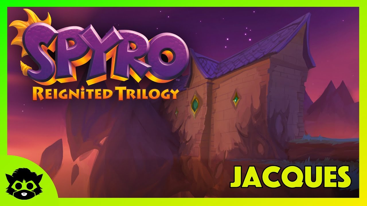 Download Spyro 1 (Reignited)   Part 30: Jacques 100% (All Gems & Dragons)
