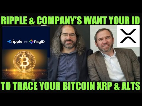 RIPPLE'S GLOBAL MASTER PLAN! HIDDEN ID TO TRACE YOUR BITCOIN XRP & ALTS! ONE WORLD CURRENCY COMING!
