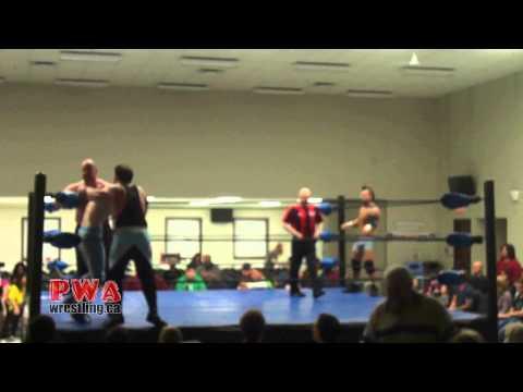 PWA Hysteria 2014 - Can Man Dan & Richie Rage Vs. Andy Anderson & William Saint