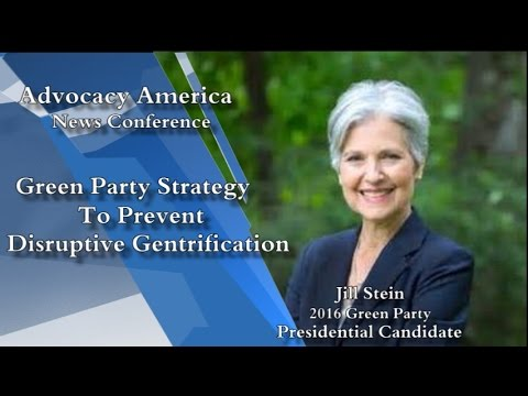Advocacy America Green Party 2016