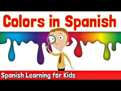Colors in Spanish  Spanish Learning for Kids