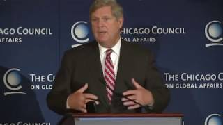 "US Agriculture Secretary Tom Vilsack, ""Innovation In Agriculture"""
