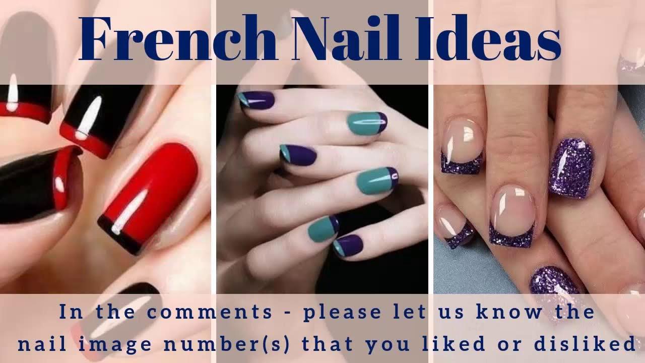 French Nails 200 French Nail Tip Ideas French Nail Polish