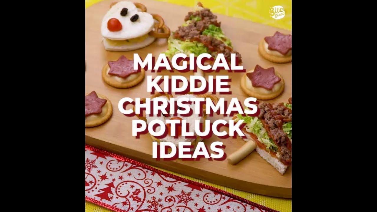 Christmas Potluck Ideas.Magical Kiddie Christmas Potluck Ideas