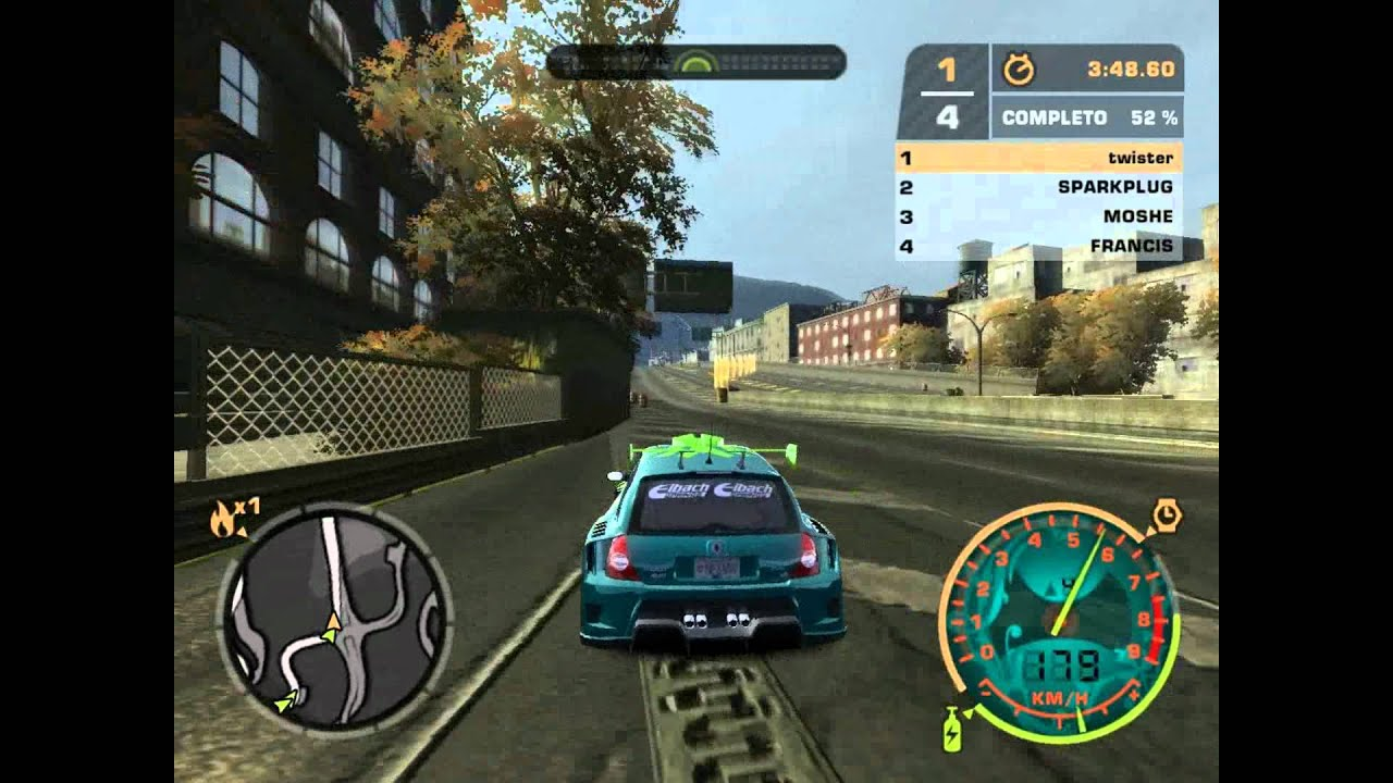 need for speed most wanted renault clio v6 youtube