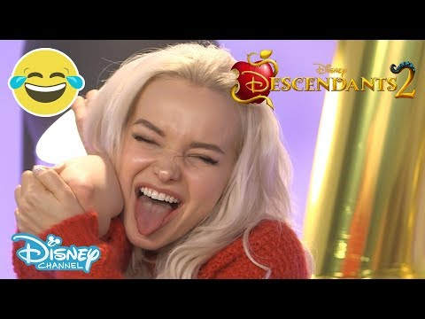 Descendants 2  Dove Cameron & Thomas Doherty Live Stream Highlights 😂   Disney Channel UK