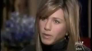 Jennifer Aniston Interview With Diane Sawyer  Part 3 -  Primetime