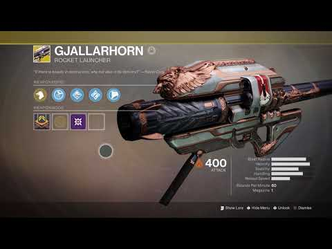 Destiny 2 - Gjallarhorn