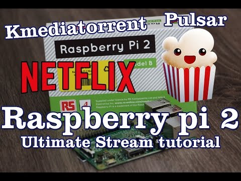 Raspberry Pi 2 Stream Tutorial - Like Popcorntime & Netflix!