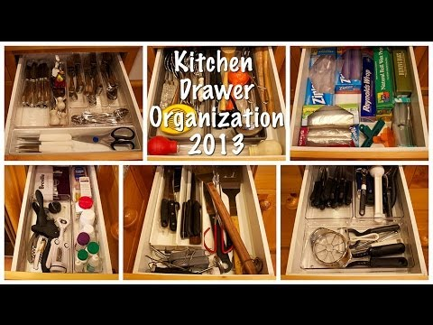 Kitchen Drawer Organization (Kitchen Series 2013)