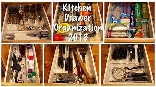 Kitchen Drawer Organization (Kitchen Series 2013)