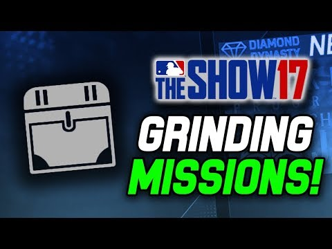 Preparing for Tomorrow's New Program! CPU Mission Grind! | MLB The Show 17 Diamond Dynasty