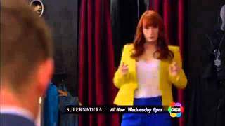 Supernatural season 8 episode 20 - Pac-Man Fever CHCH Promo  [HD]