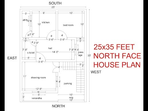 25*36 house plan with car parking tagged videos on VideoHolder
