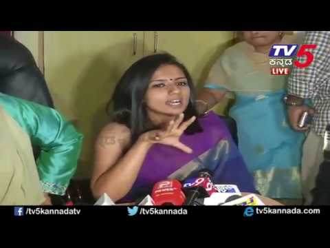 Sruthi Hariharan Press Meet On Arjun Sarja Metoo Allegation   Kannada News   TV5 Kannada